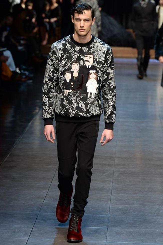 MILAN FASHION WEEK Dolce & Gabbana Fall 2015. www.imageamplified.com, Image Amplified (41)