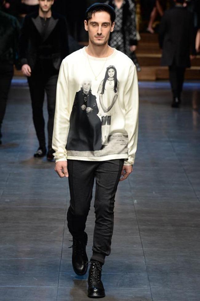 MILAN FASHION WEEK Dolce & Gabbana Fall 2015. www.imageamplified.com, Image Amplified (61)