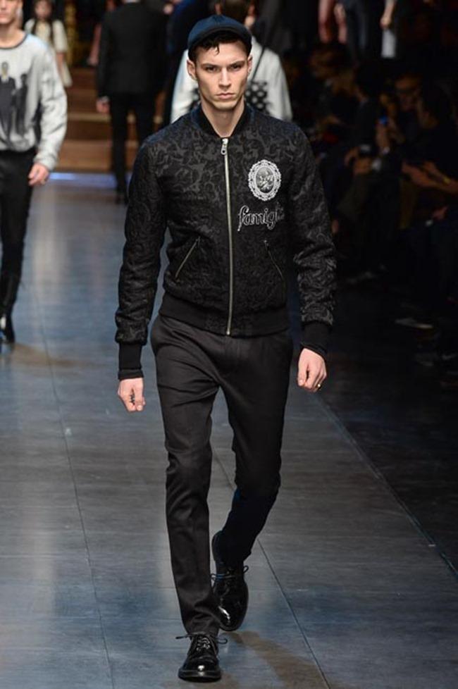 MILAN FASHION WEEK Dolce & Gabbana Fall 2015. www.imageamplified.com, Image Amplified (75)