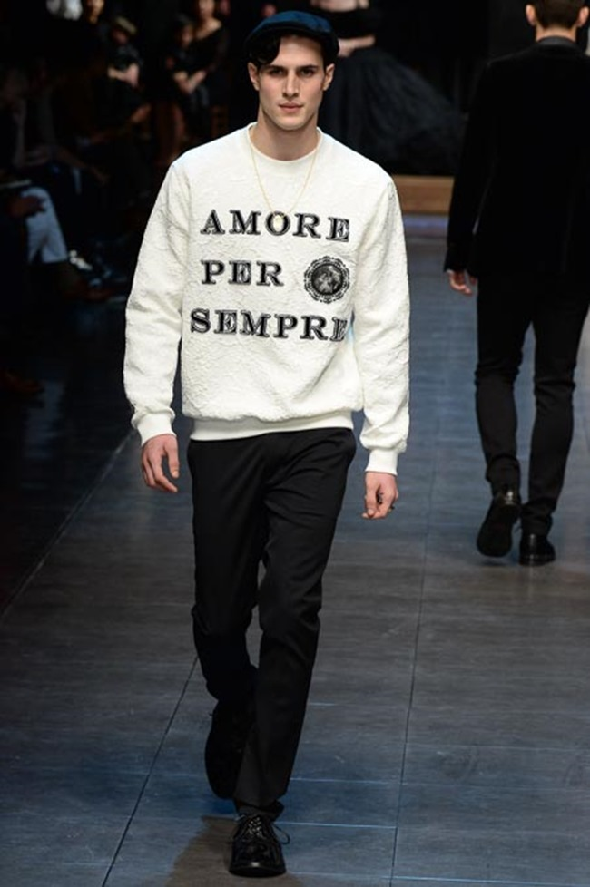 MILAN FASHION WEEK Dolce & Gabbana Fall 2015. www.imageamplified.com, Image Amplified (83)