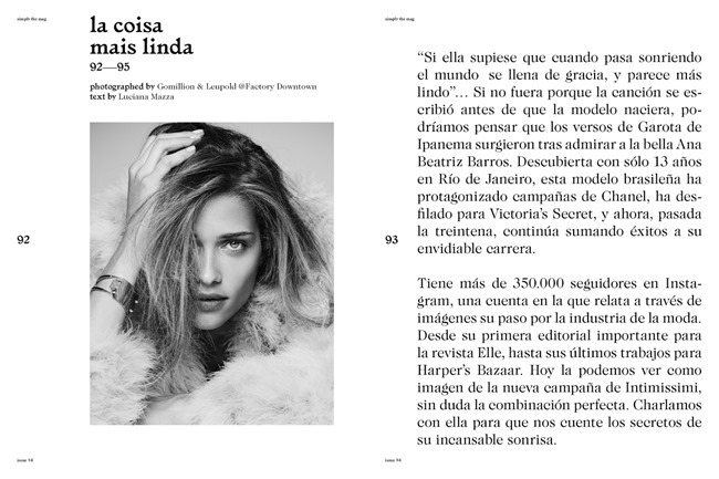 SIMPLY MAGAZINE Ana Beatriz Barros by Gomillion & Leupold. Ise White, Spring 2015, www.imageamplified.com, Image Amplified (8)