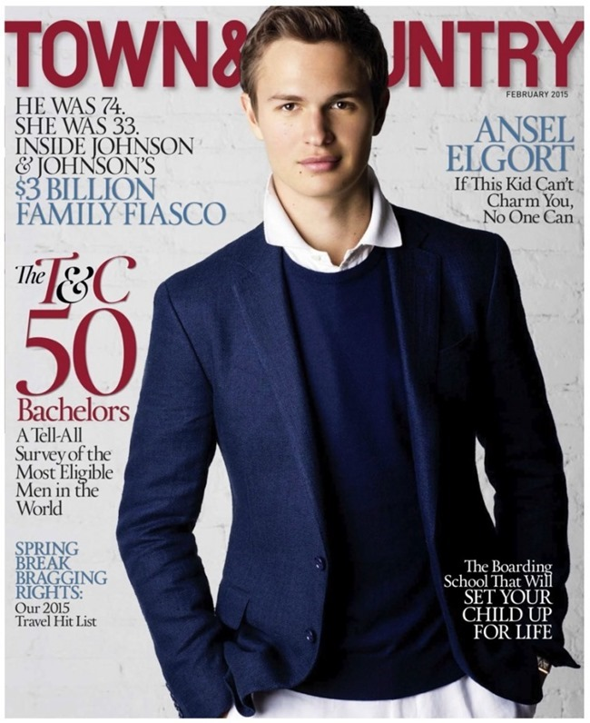 TOWN & COUNTRY Ansel Elgort by Athrur Elgort. February 2015, www.imageamplified.com, Image Amplified (2)