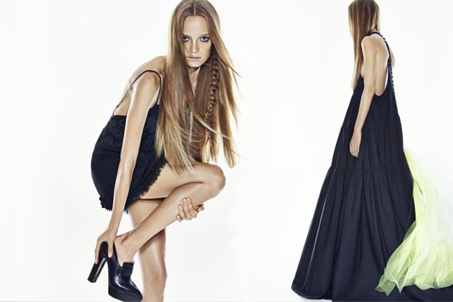 CAMPAIGN Ine Neefs for Vera Wang Spring 2015 by Patrick Demarchelier. Panos Yiapanis, www.imageamplified.com, Image Amplified (1)