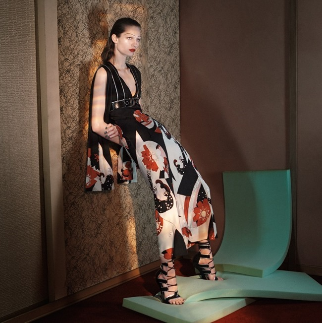 CAMPAIGN Karolin Wolter for Alexander McQueen Spring 2015 by David Sims. www.imageamplified.com, Image Amplified (6)