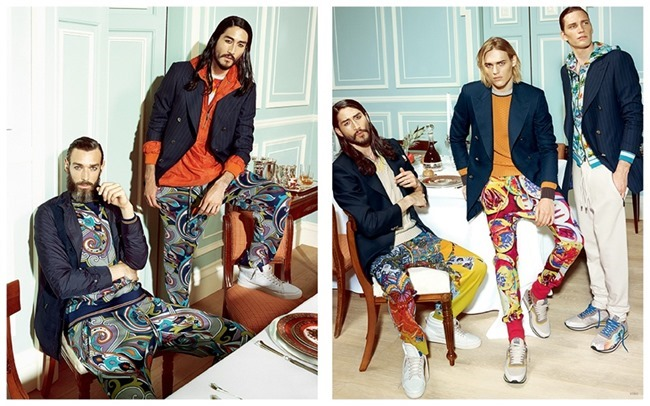 CAMPAIGN Ton Heukels, Richard Biedul, Tony Thornburg & Florian Van Bael for Etro Spring 2015. www.imageamplified.com, Image Amplified (2)