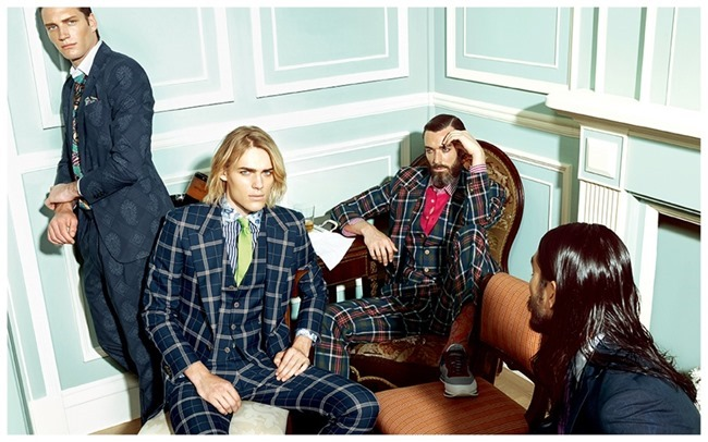 CAMPAIGN Ton Heukels, Richard Biedul, Tony Thornburg & Florian Van Bael for Etro Spring 2015. www.imageamplified.com, Image Amplified (4)