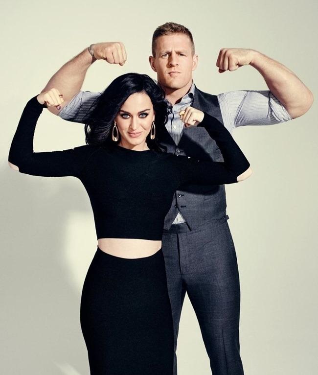 ESPN MAGAZINE Katy Perry & J.J. Watt by Joe Pugliese. February 2015, www.imageamplified.com, Image Amplified (1)