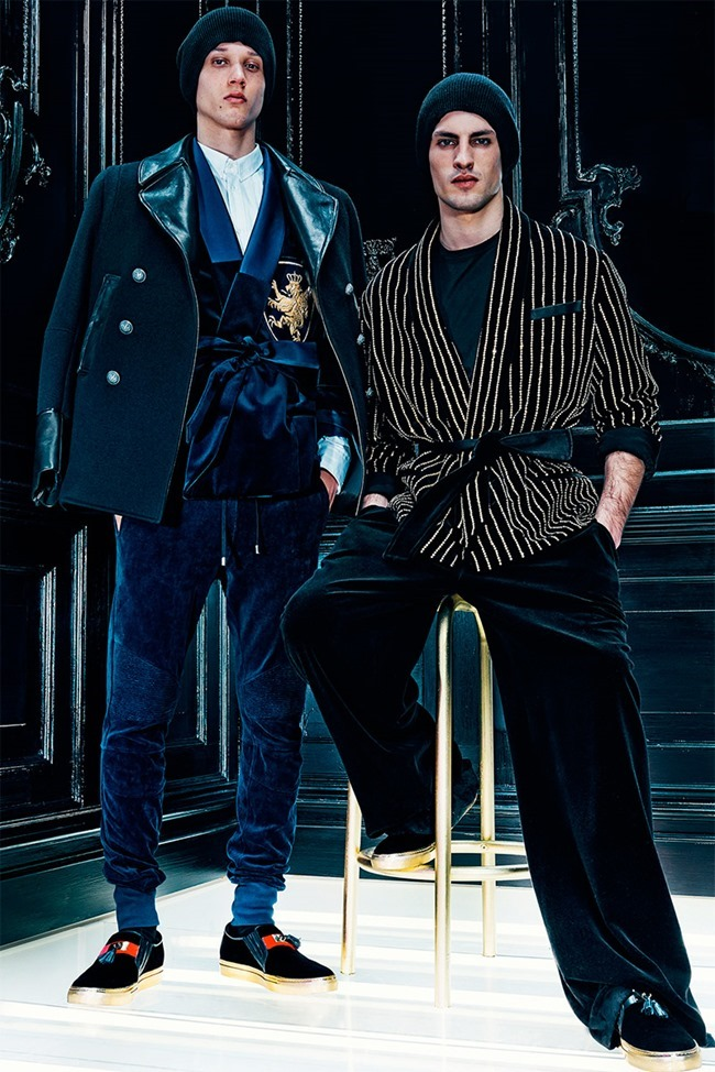 LOOKBOOK Abiah Hostvedt and Corto Boutan for Balmain Fall 2015 by Dominick Sheldon. www.imageamplified.com, Image Amplified (6)