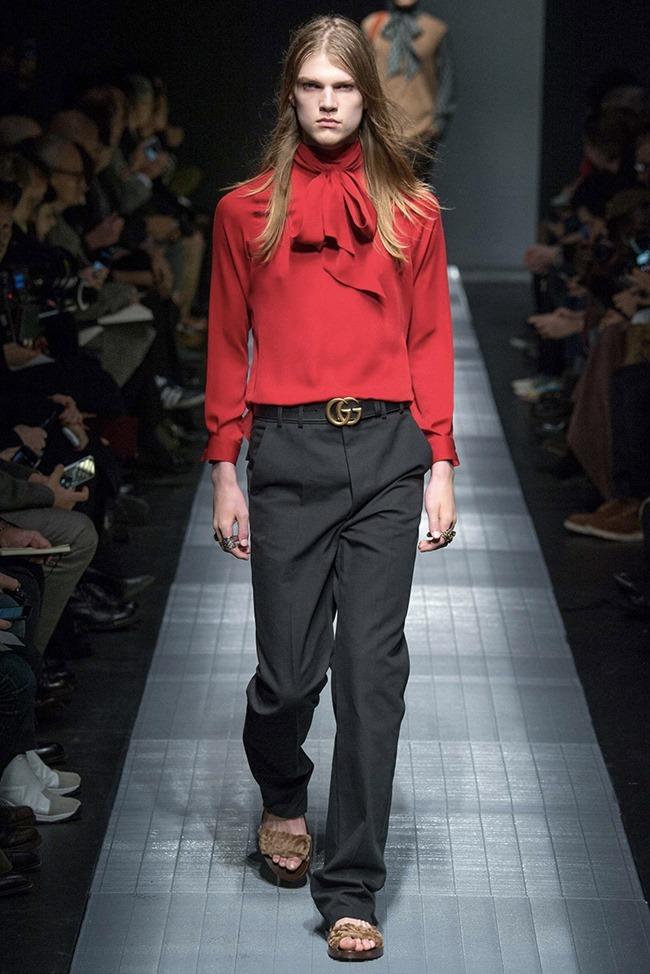 MILAN FASHION WEEK Gucci Fall 2015. www.imageamplified.com, Image Amplified (1)