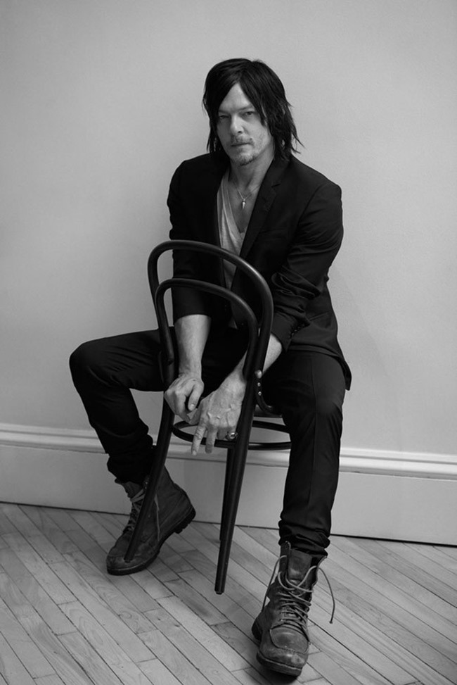 L'UOMO VOGUE Norman Reedus by Eric Guillemain. Spring 2015, www.imageamplified.com, Image Amplified (7)