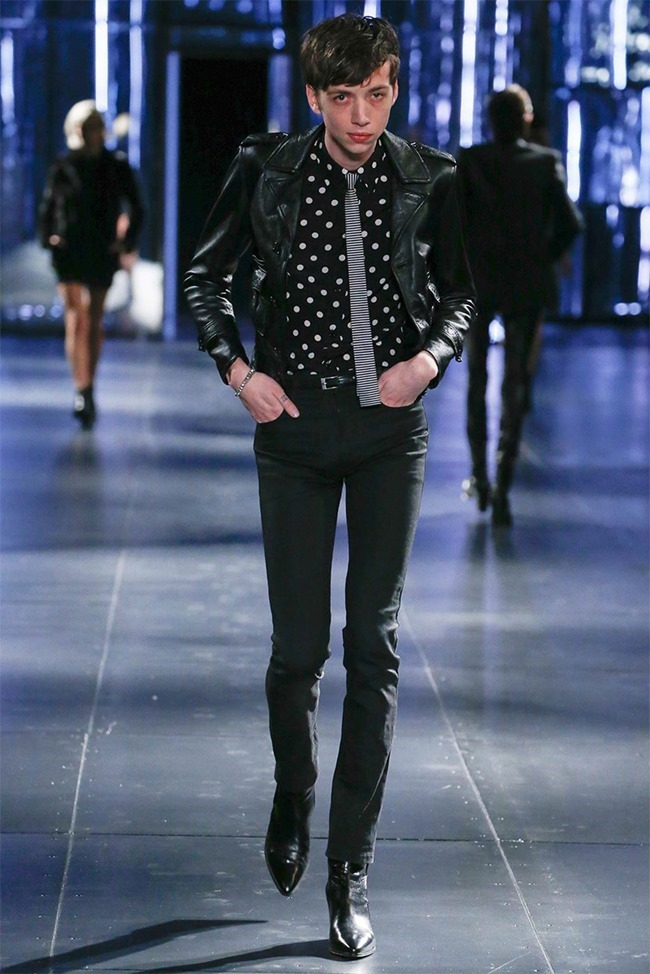 PARIS FASHION WEEK Saint Laurent Fall 2015. www.imageamplified.com, Image Amplified (12)