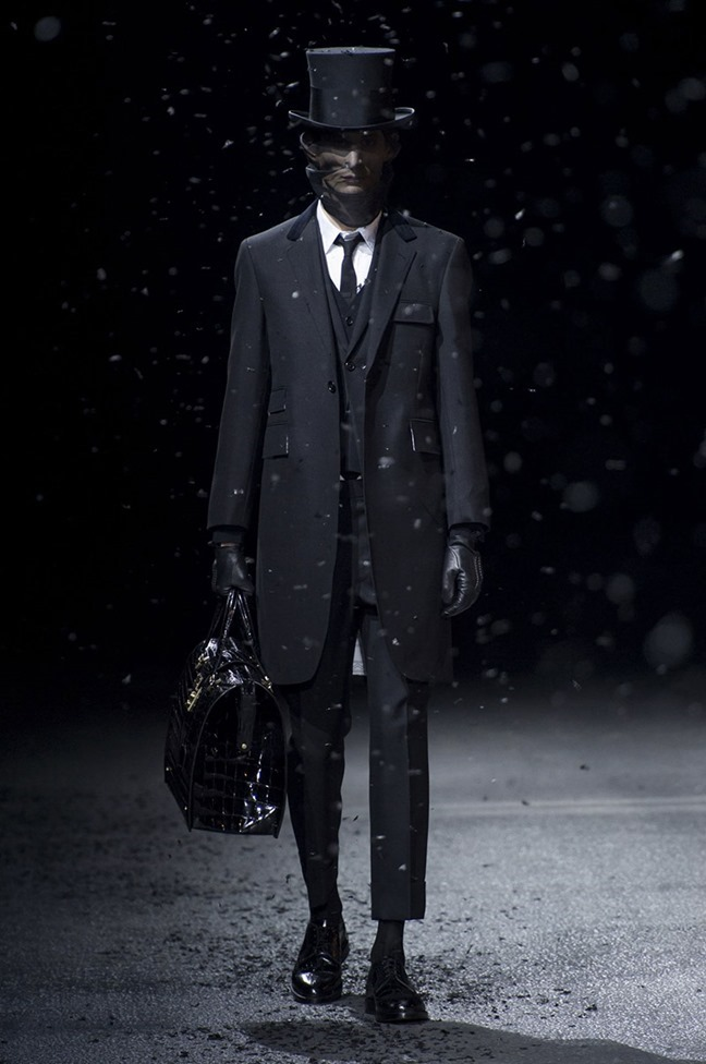 PARIS FASHION WEEK Thom Browne Fall 2015. www.imageamplified.com, Image Amplified (1)