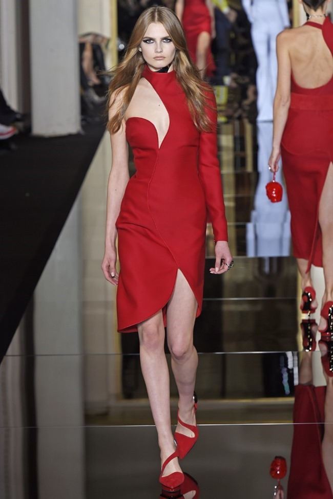 PARIS HAUTE COUTURE Atelier Versace Couture Spring 2015. www.imageamplified.com, Image Amplified (8)