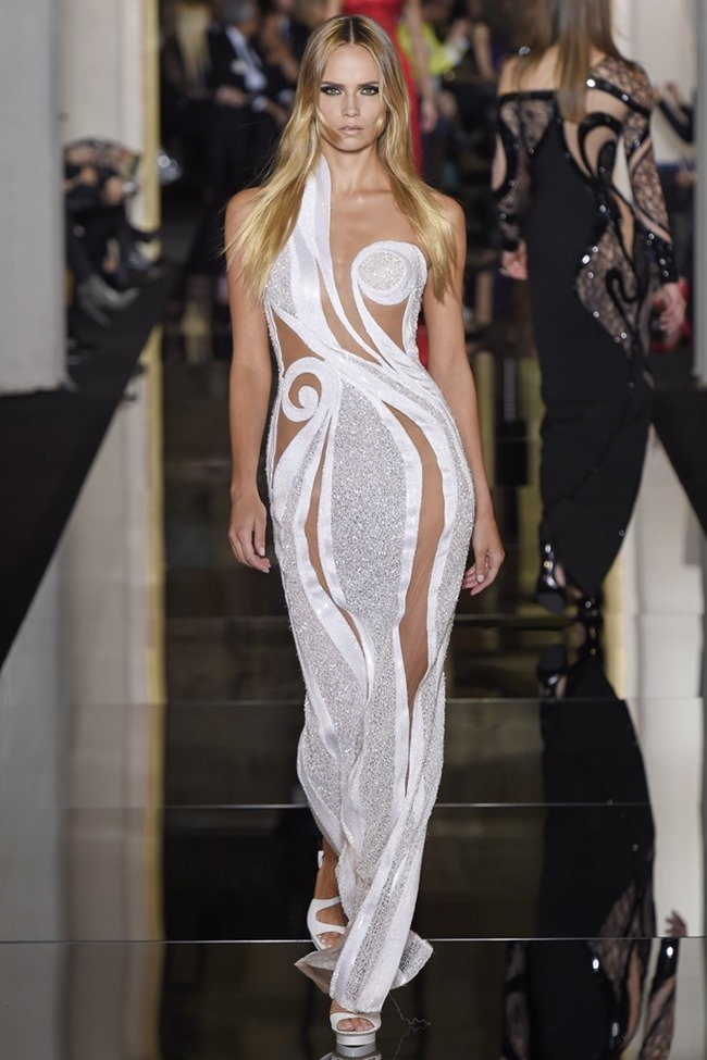 PARIS HAUTE COUTURE Atelier Versace Couture Spring 2015. www.imageamplified.com, Image Amplified (40)