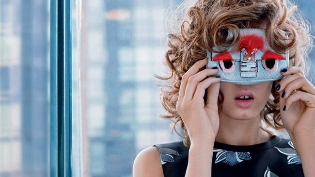 CAMPAIGN Lindsey Wixson & Binx Walto for Fendi Spring 2015 by Karl Lagerfeld. www.imageamplified.com, Image Amplified (10)