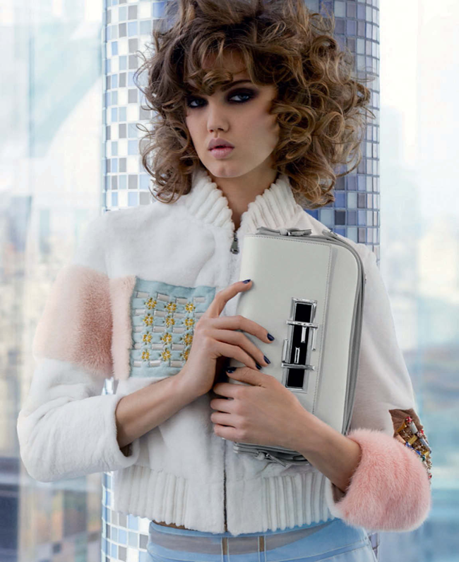 CAMPAIGN Lindsey Wixson & Binx Walto for Fendi Spring 2015 by Karl Lagerfeld. www.imageamplified.com, Image Amplified (1)