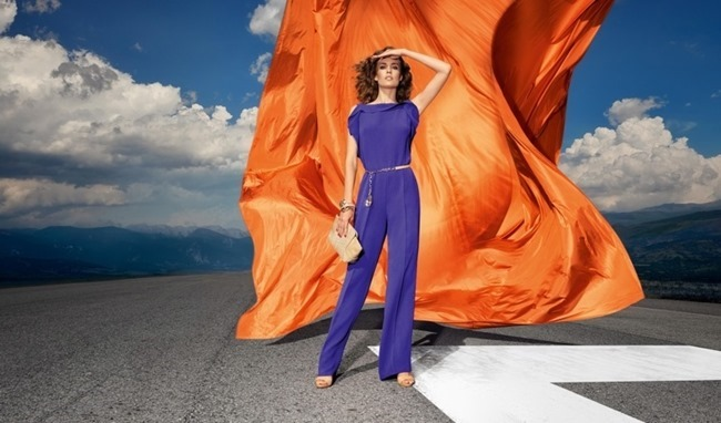 CAMPAIGN Nadja Bender for Escada Spring 2015 by Julia NOni. www.imageamplified.com, Image amplified (1)