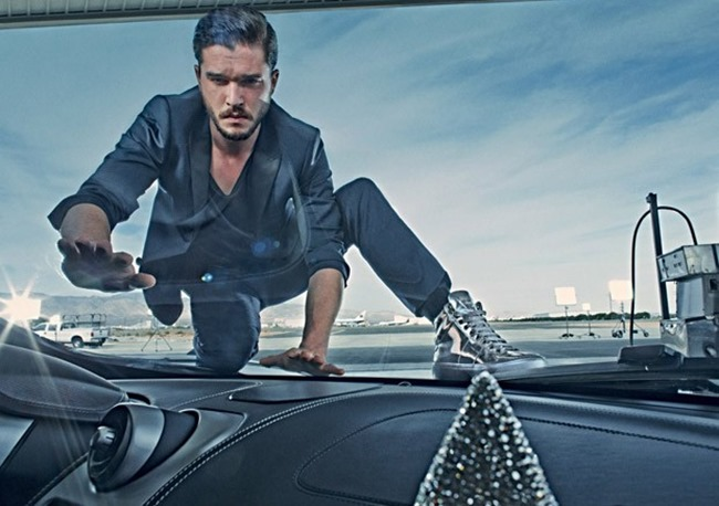 CAMPAIGN Ondria Hardin & Kit Harington for Jimmy Choo Spring 2015 by Steven Klein. Panos Yiapanis, www.imageamplified.com, Image Amplified (3)