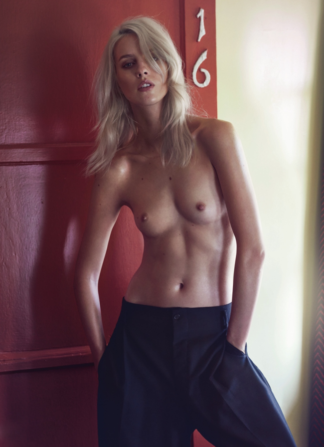 LUI MAGAZINE Julia Frauche by Sharif Hamza. Sally Lyndley, February 2015, www.imageamplified.com, Image Amplified (4)