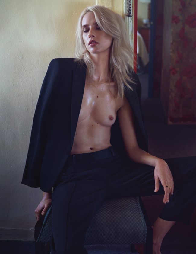 LUI MAGAZINE Julia Frauche by Sharif Hamza. Sally Lyndley, February 2015, www.imageamplified.com, Image Amplified (3)