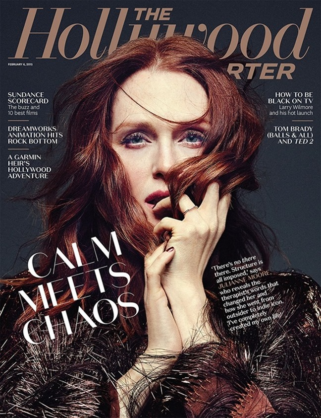 THE HOLLYWOOD REPORTER Julianne Moore by Miler Mobley. February 2015, www.imageamplified.com, Image Amplified (1)