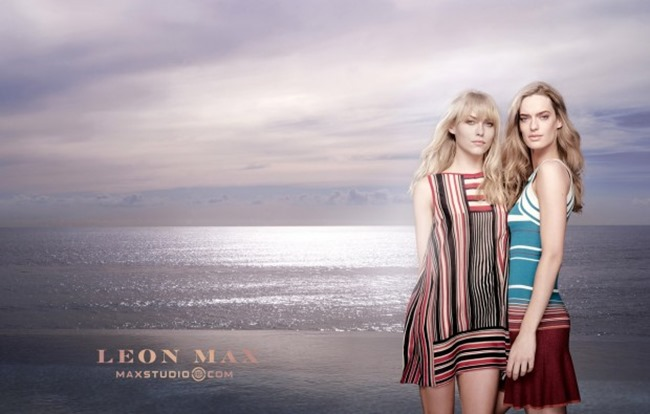 CAMPAIGN Amy Kingston & Lauren Taylor for Leon Max & Maxstudio Spring 2015 by Phillip Dixon. www.imageamplified.com, Image Amplified (5)