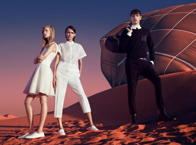 CAMPAIGN Adrien Sahores, Binx Walton & Lexi Boling for Hugo Spring 2015 by Pierre Debusschere. Tom Van Dorpe, www.imageamplified.com, Image Amplified (2)