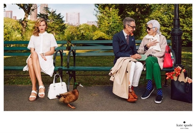 CAMPAIGN Karlie Kloss & Iris Apfel for Kate Spade Spring 2015 by Emma Summerton. www.imageamplified.com, Image Amplified (6)