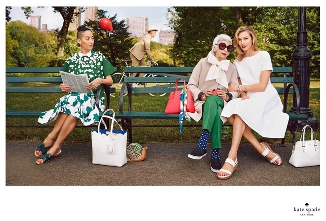 CAMPAIGN Karlie Kloss & Iris Apfel for Kate Spade Spring 2015 by Emma Summerton. www.imageamplified.com, Image Amplified (4)
