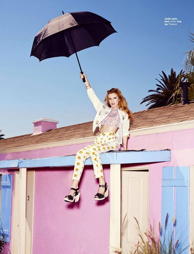 COSMOPOILTAN MAGAZINE Bella Thorne by Dan Monick. Aya Kanai, February 2015, www.imageamplified.com, Image Amplified (6)