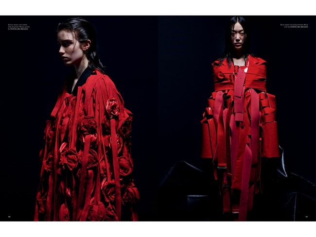 LOVE MAGAZINE Natalie Westling, Grace Hartzel, Roos Abels &  Sora Choi by Mario Sorrenti. Panos Yiapanis, Spring 2015, www.imageamplified.com, Image Amplified   (5)