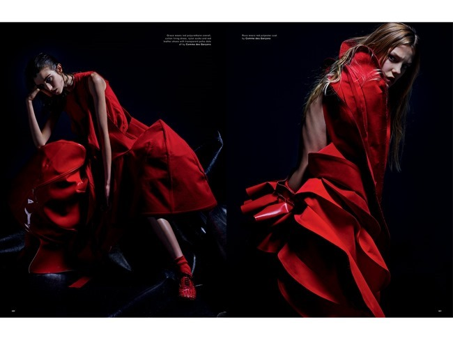 LOVE MAGAZINE Natalie Westling, Grace Hartzel, Roos Abels &  Sora Choi by Mario Sorrenti. Panos Yiapanis, Spring 2015, www.imageamplified.com, Image Amplified   (2)