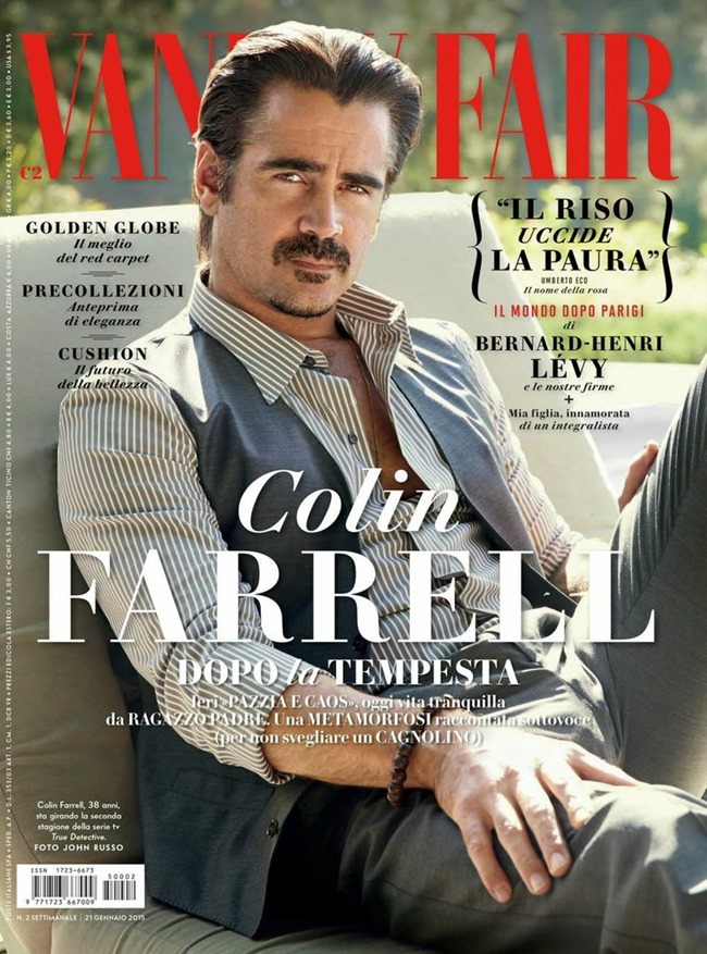VANITY FAIR ITALIA Colin Farrell by John Russo. Taylor Jacobson, January 2015, www.imageamplified.com, Image Amplified (1)