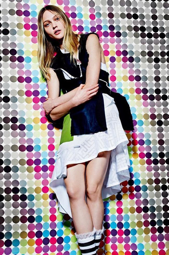 VOGUE ITALIA Sasha Pivovarova by Mario Sorrenti. Robbie Spencer, February 2015, www.imageamplified.com, Image Amplified (5)