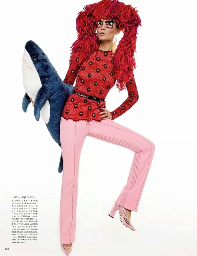 VOGUE JAPAN Natasha Poly by Gimapaolo Sgura. Anna Dello Russo, March 2015, www.imageamplified.com, Image Amplified (3)