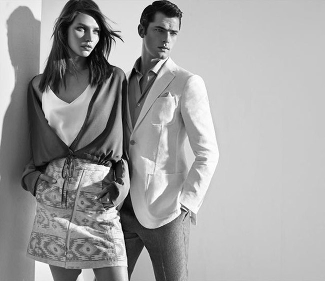 CAMPAIGN Sean O'Pry & Aline Weber for Sarar Spring 2015 by Umit Savaci, Tom Van Dorpe, www.imageamplified.com, Image Amplified (8)