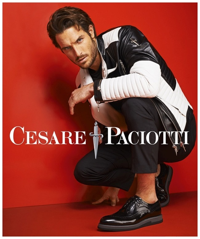 CAMPAIGN Justin Joslin & Frankie Rayder for Cesare Paciotti Spring 2015 by Mariano Vivanco. www.imageamplified.com, Image Amplified (1)