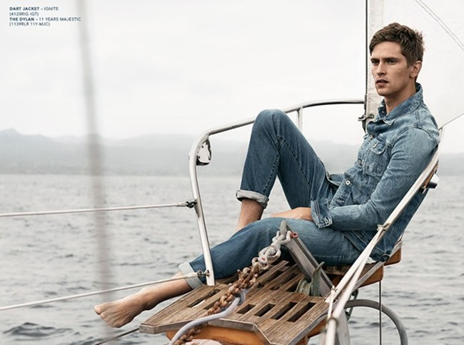 CAMPAIGN Mathias Lauridsen & Daria Werbowy for AG Jean Spring 2015 by Lachlan Bailey. Alastair McKimm, www.imageamplified.com, Image Amplified (3)
