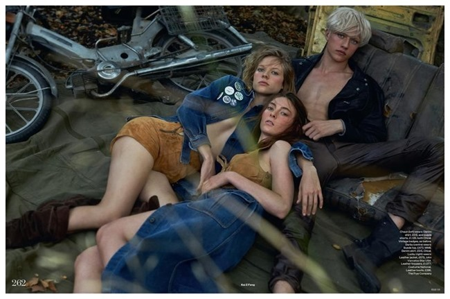 ELLE UK Darby Stephens & Chaun by Kai Z Feng. Anne-Marie Curtis, Spring 2015, www.imageamplified.com, Image Amplified (4)