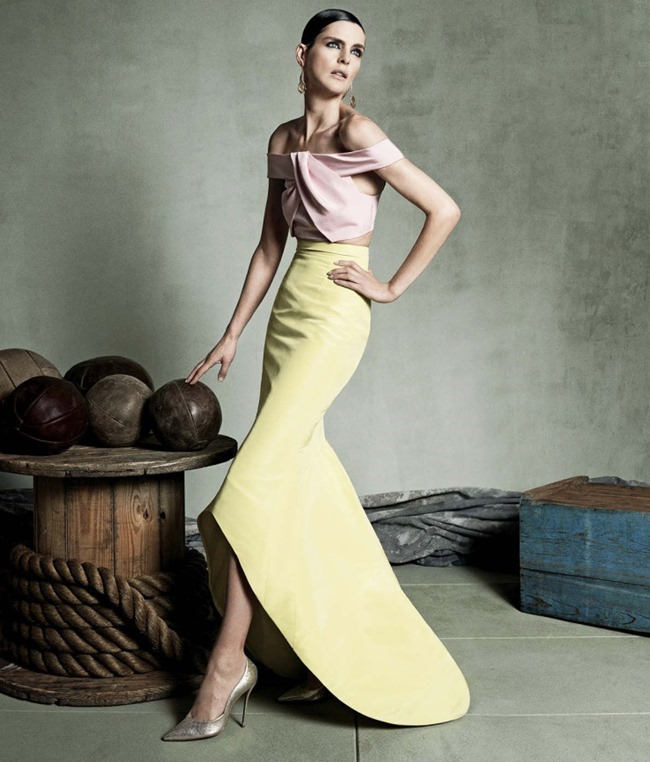 LOOKBOOK Stella Tennant for Neiman Marcus Spring 2015 by Iango & Luigi. www.imageamplified.com, Image Amplified (4)