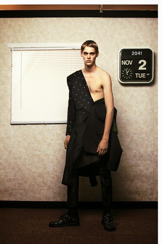 METAL MAGAZINE Mats van Snippenberg in Dior Homme by Nicola Maria Winkler, Spring 2015, www.imageamplified.com, Image Amplified (11)