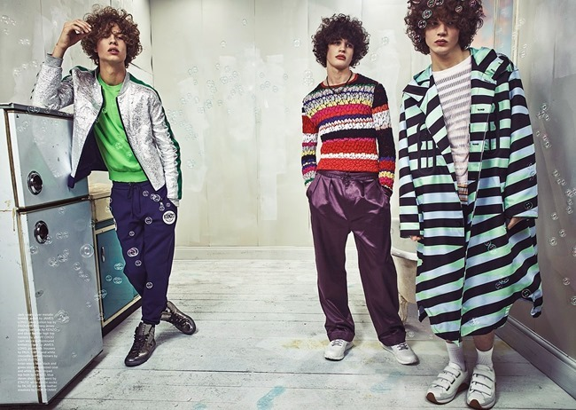 WONDERLAND MAGAZINE Aaran Turton Phillips, Liam Sole & Jack Mather by Thomas Cooksey. Spring 2015, www.imageamplified.com, Image Amplified (7)