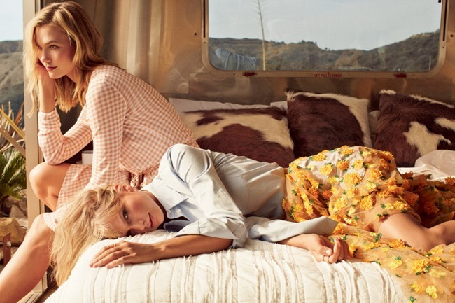 VOGUE MAGAZINE Karlie Kloss & Taylor Swift by Mikael Jansson. Tonne Goodmann, March 2015, www.imageamplified.com, Image Amplified (6)