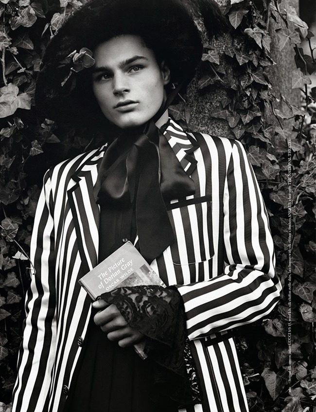 ARENA HOMME  Tyler Littlejohns by Alasdair McLellan. Benjamin Bruno, Spring 2015, www.imageamplified.com, Image Amplified (17)