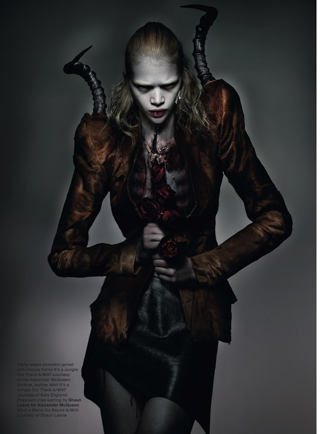 ANOTHER MAGAZINE McQueen by Nick Knight. Katy England, Spring 2015, www.imageamplified.com, Image Amplified (16)