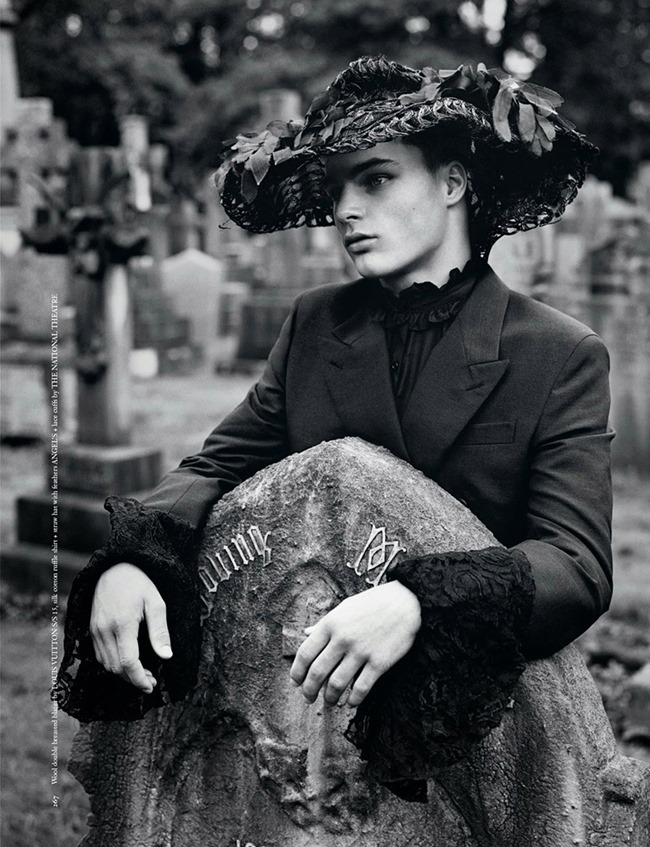 ARENA HOMME  Tyler Littlejohns by Alasdair McLellan. Benjamin Bruno, Spring 2015, www.imageamplified.com, Image Amplified (7)