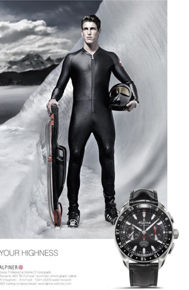 CAMPAIGN Lucas Muller for Alpine Watches 2015 by Stefano Cattelan. www.imageamplified.com, Image Amplified