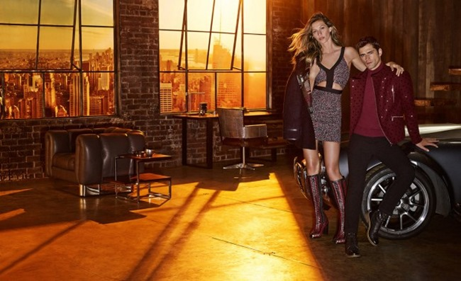 CAMPAIGN Sean O'Pry & Gisele Bundchen for Colcci Fall 2015 by Giampaolo Sgura. www.imageamplified.com, Image Amplified (3)