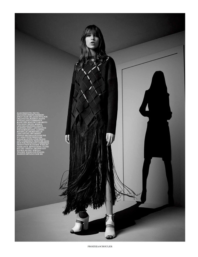 INTERVIEW MAGAZINE Silhouettes & Shadows by Craig McDean. Karl Templer, March 2015, www.imageamplified.com, Image Amplified (1)