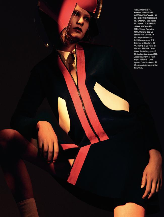 NUMERO CHINA Marland Backus by Dario Catellani. Vittoria Cerciello, March 2015, www.imageamplified.com, Image Amplified (10)